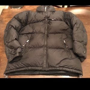 Men's Nike Black Puffer Down Insulated Jacket M